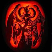 Devil Pumpkin by XxSphenxX