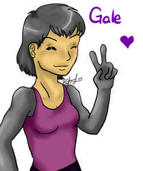 Arttrade with Chibi Alex: Gale