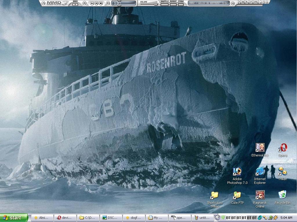 New Desktop - Rosenrot