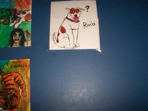 Riley in Crayola Markers.