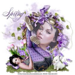 Lavenderspring by biene239