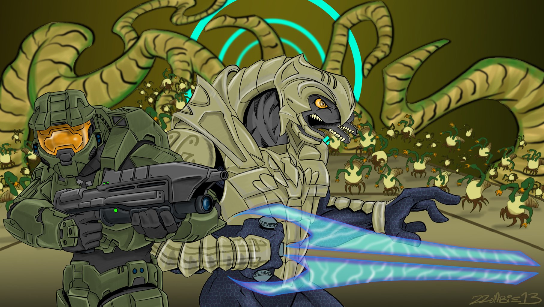 Gravemind Attacks by ZZoMBiEXIII