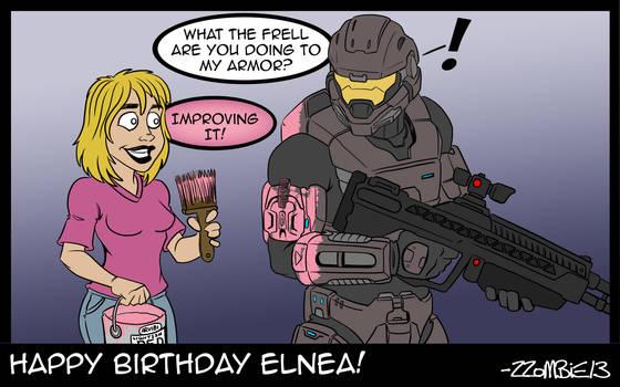 Happy Birthday Elnea