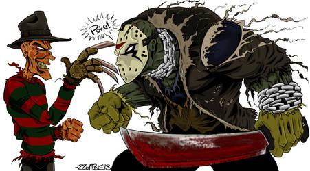 Freddy and Jason -Sam Keith Style-