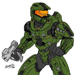 Halo 4 Master Chief (fixed)