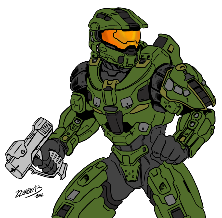 Halo 4 Master Chief (fixed) by ZZoMBiEXIII