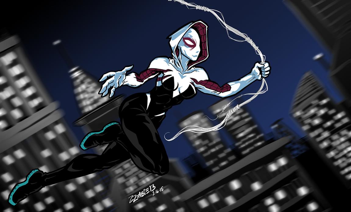 SpiderGwen by ZZoMBiEXIII