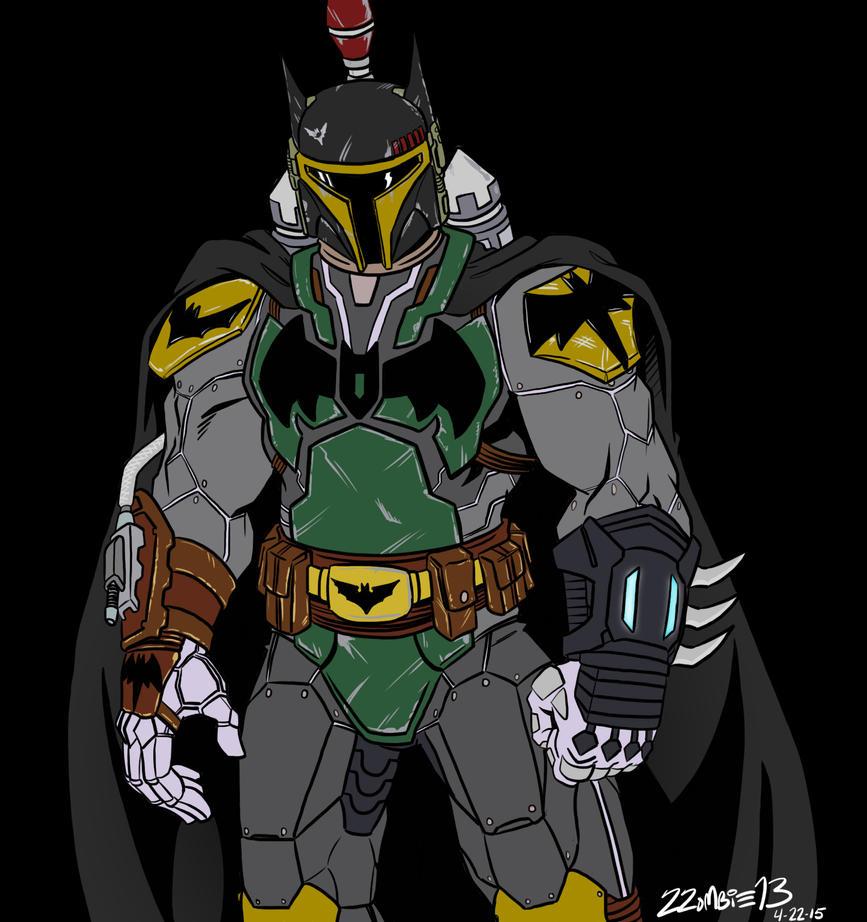 Bat-Mandalorian by ZZoMBiEXIII