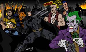 Arkham Fight