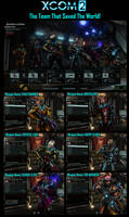 My XCOM2 Team
