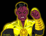 Uncle Ethan said we MUST draw Sinestro