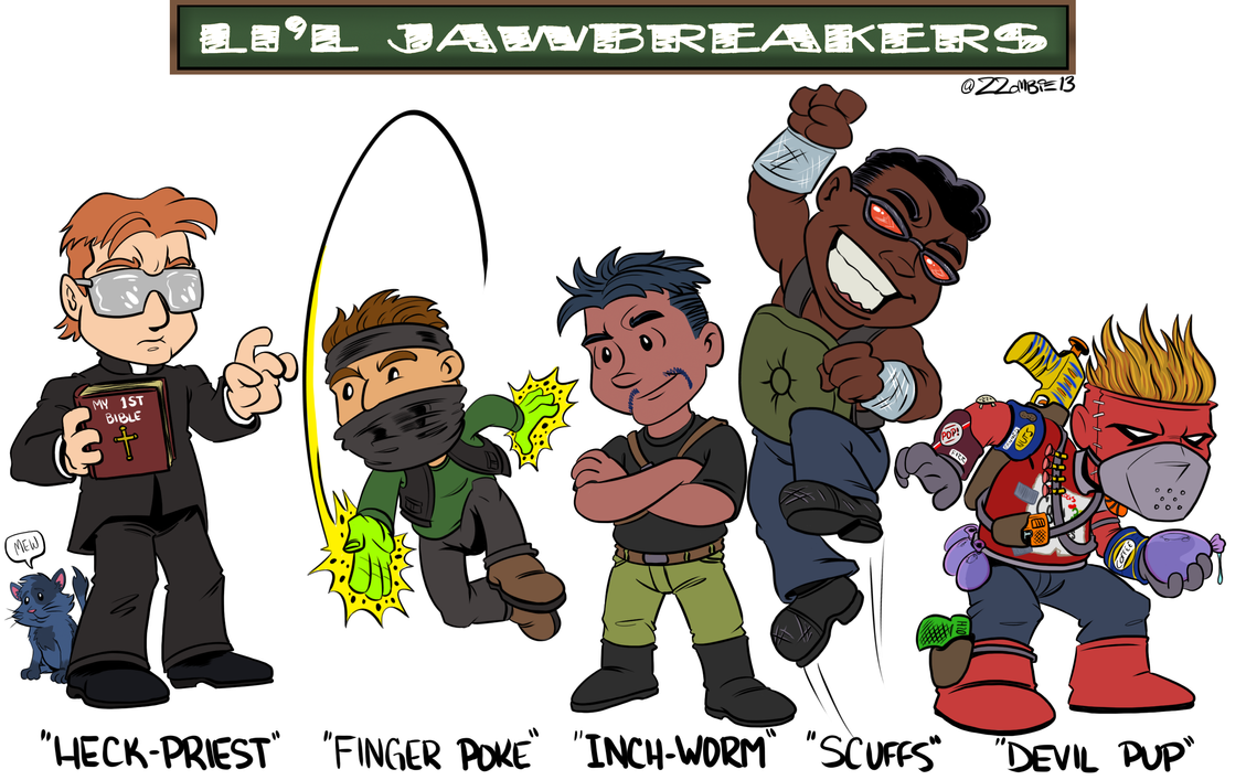 Li'l Jawbreakers by ZZoMBiEXIII