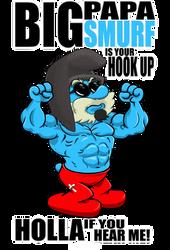 Big Poppa Smurf