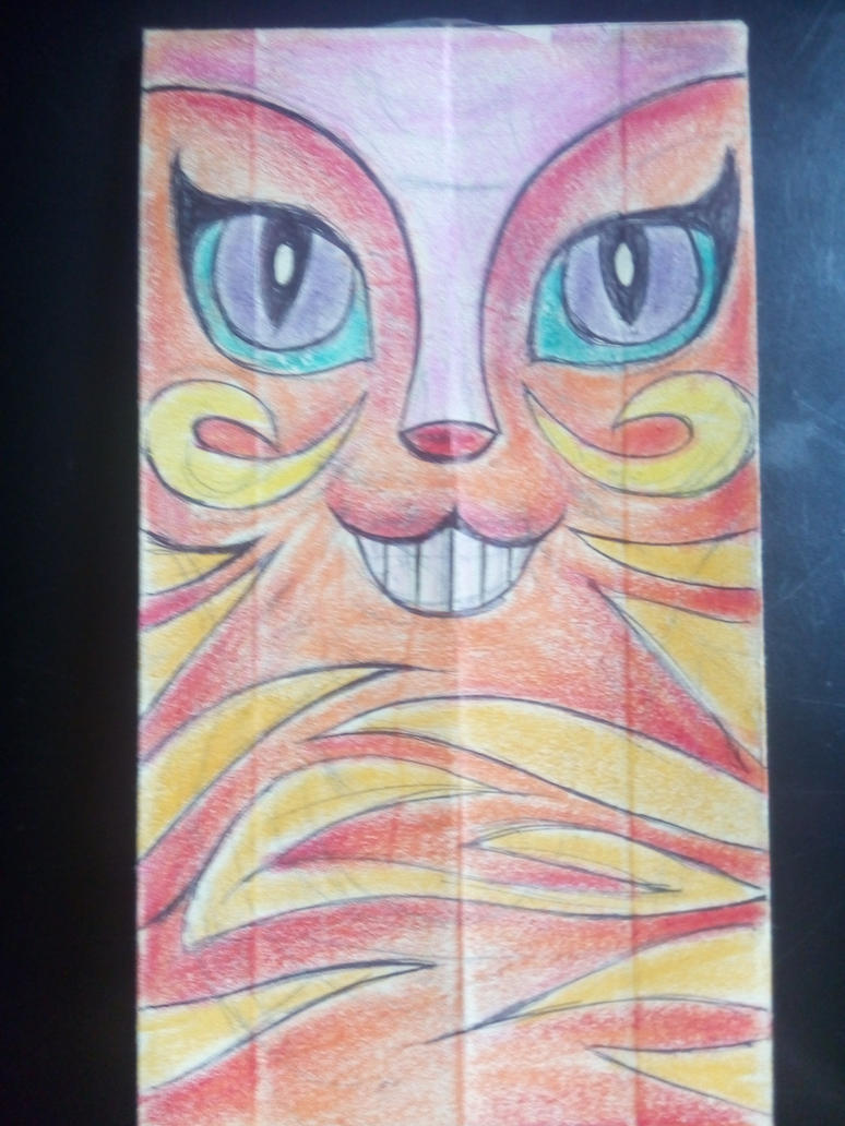 Weird Cat by NAZI-SCHUTZSTAFFEL