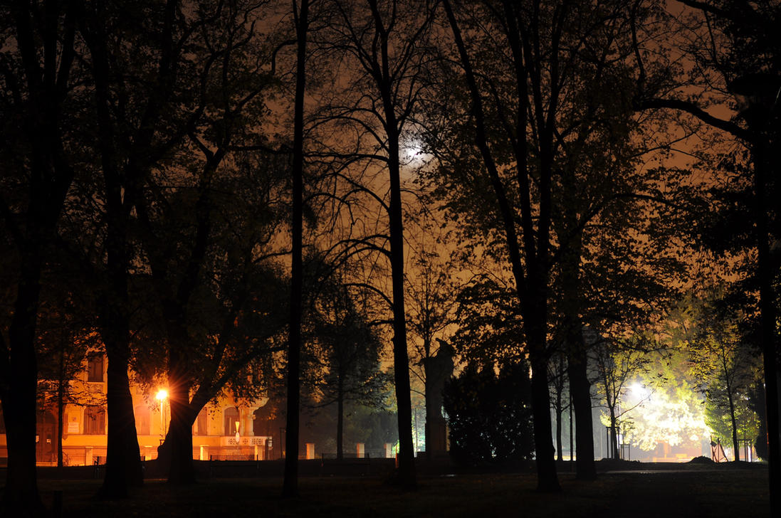 One night in Litomerice by ChristopherDeer
