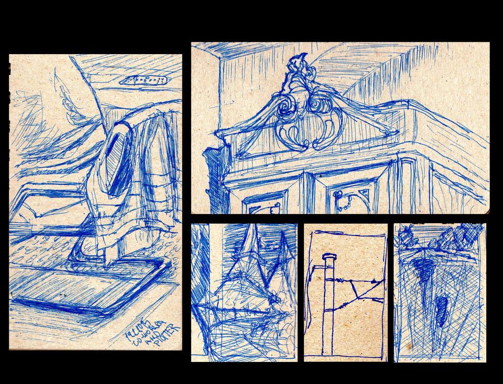 Sketchbook bits_1 by ChristopherDeer