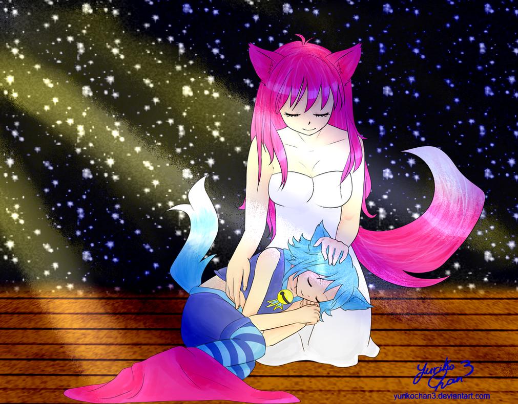Lost in a starry dream... by YurikoChan3