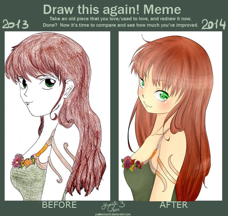 :DrawThisAgain: Natural by YurikoChan3