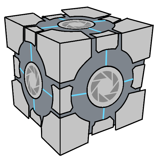 Aperture Science Weighted Storage Cube (Portal) by Pseudospeed ...  sc 1 st  DeviantArt & Aperture Science Weighted Storage Cube (Portal) by Pseudospeed on ...