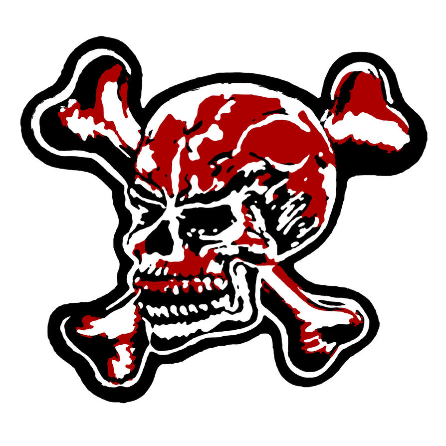 duff mckagan no fear skull logo sticker by csillagdani on