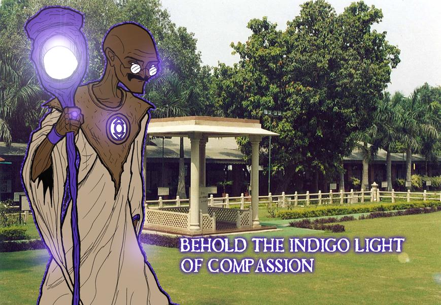 GLC - Indigo Lantern I by What-the-Gaff