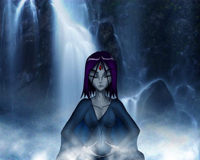 Teen titans ravens meditation session