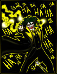 Sinestro Corps Joker by What-the-Gaff