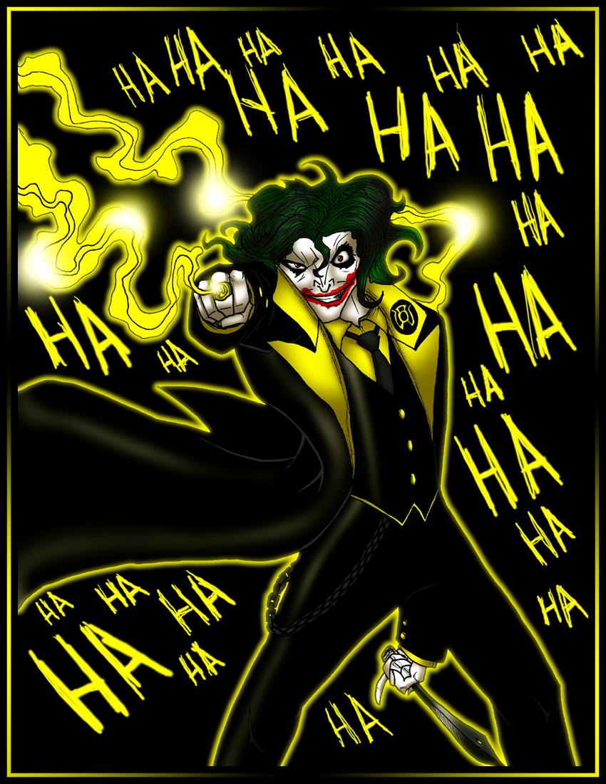 yellow lantern joker - photo #1