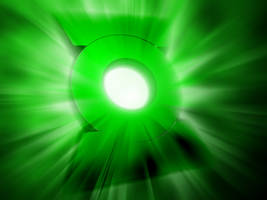 Green Lantern Burst by What-the-Gaff