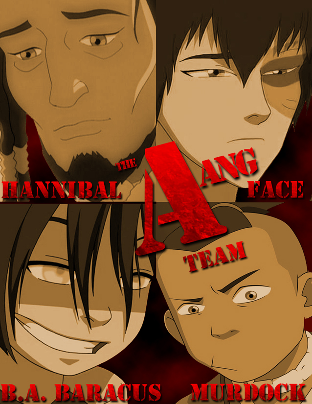 The Aang Team - Poster by What-the-Gaff