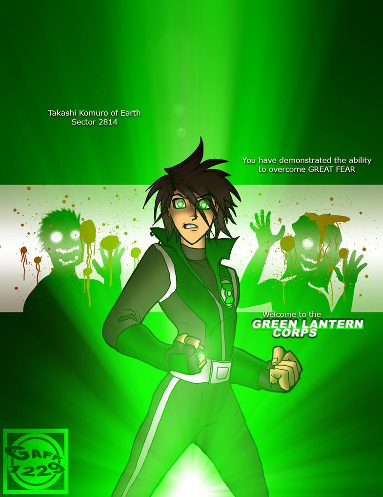 HOTD's Green Lantern Takashi by What-the-Gaff
