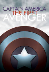 Captain America mock poster 2 by What-the-Gaff