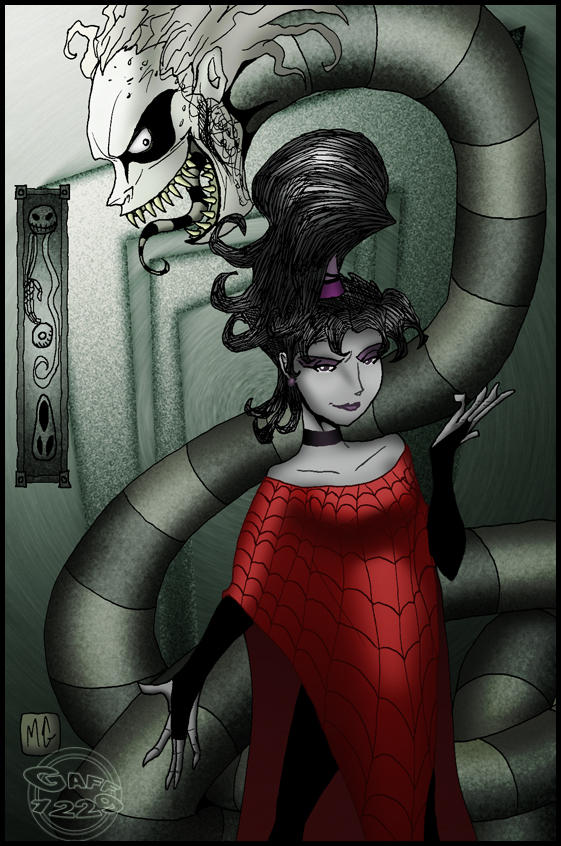 Beetlejuice and Lydia by What-the-Gaff