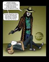V for Vendetta - Laundry Day by What-the-Gaff