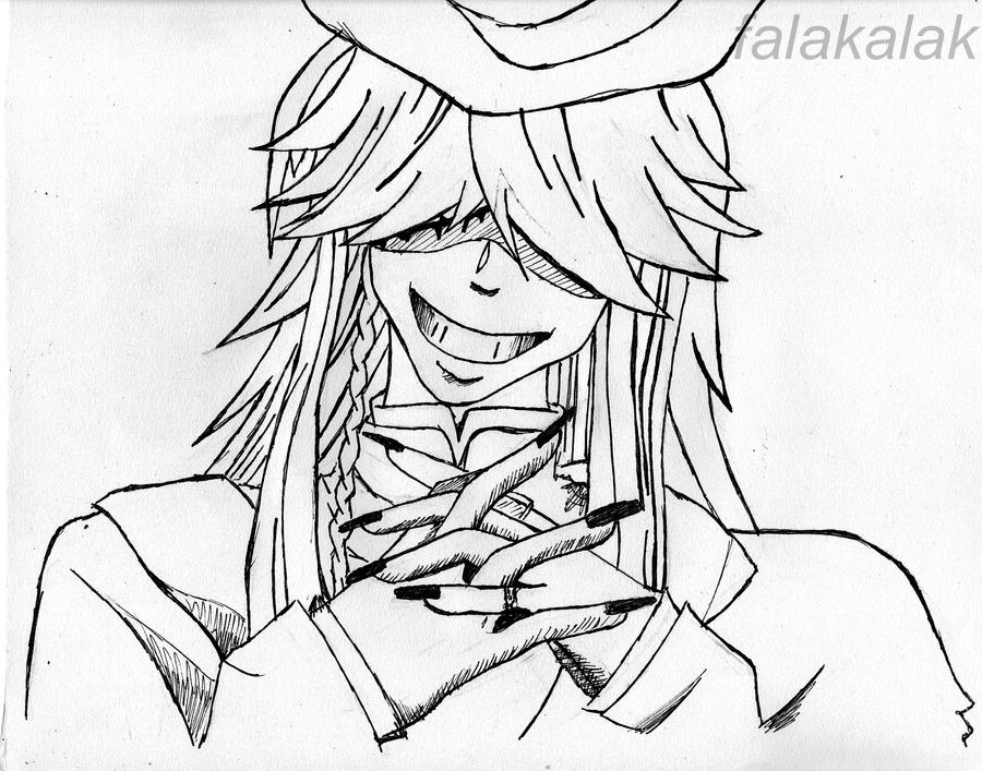 undertaker lineart by falakalak undertaker - Black Butler Chibi Coloring Pages