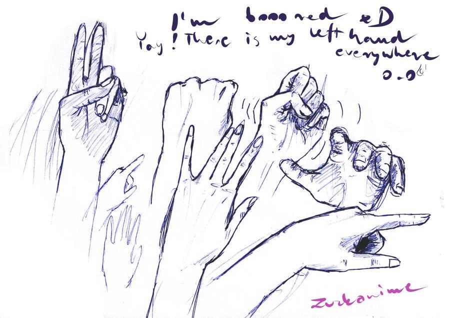 Hand Poses By Zuzkanime On Deviantart