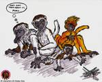 Lemur family from Dinosaur