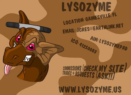 Lysozyme's Profile Picture
