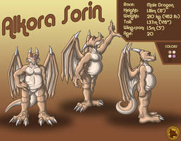 Character Layout - Alkora by Lysozyme
