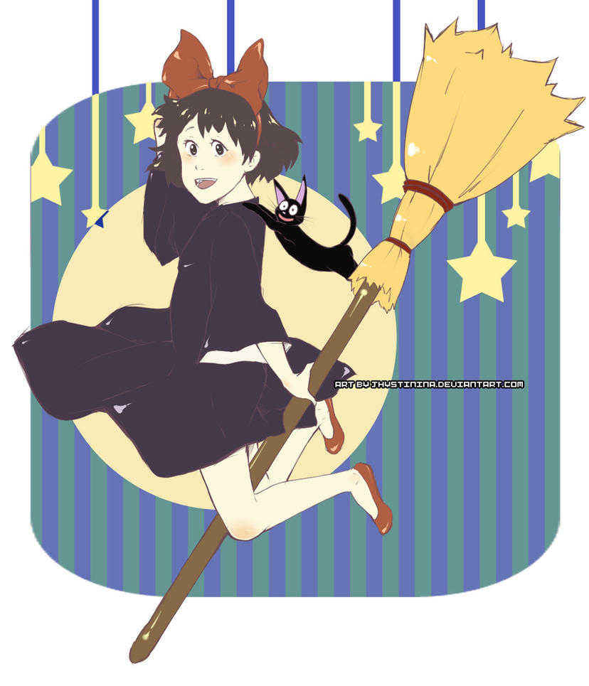 Kiki's delivery service by jhustinian