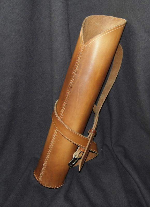 Leather quiver by Kiscien on DeviantArt  Leather quiver ...