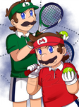 Stylish Tennis Bros~