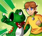 [Comm] The Adventurous Duo by Azuhreidii