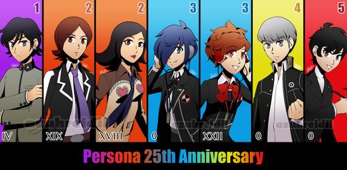 25 Years of Persona! by Azuhreidii