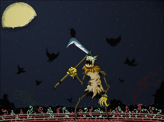 Pixel Fiddlesticks by MrScrake