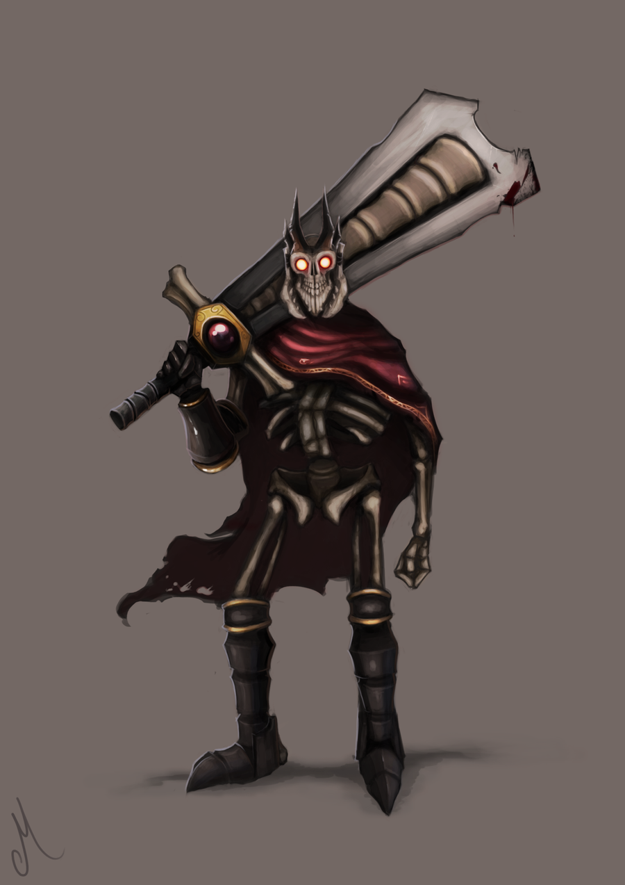 Dota 2 - Skeleton King by MrScrake on DeviantArt