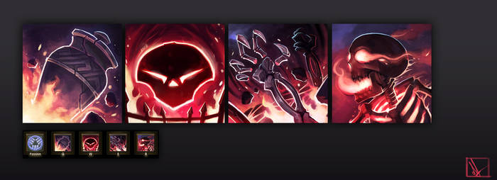 Forgefire Desecrator Skill Icons
