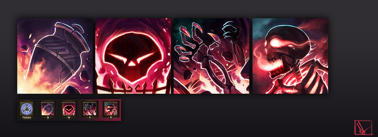 Updated Forgefire Desecrator Skill Icons by MrScrake