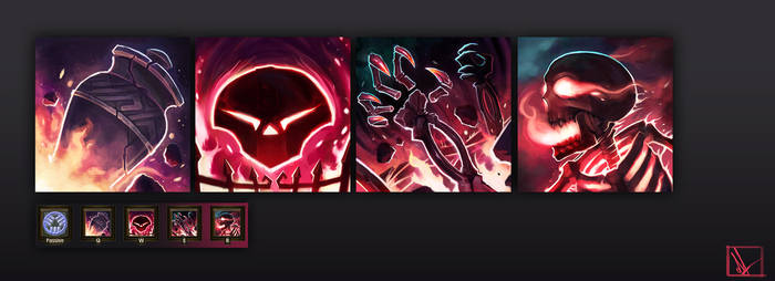Updated Forgefire Desecrator Skill Icons