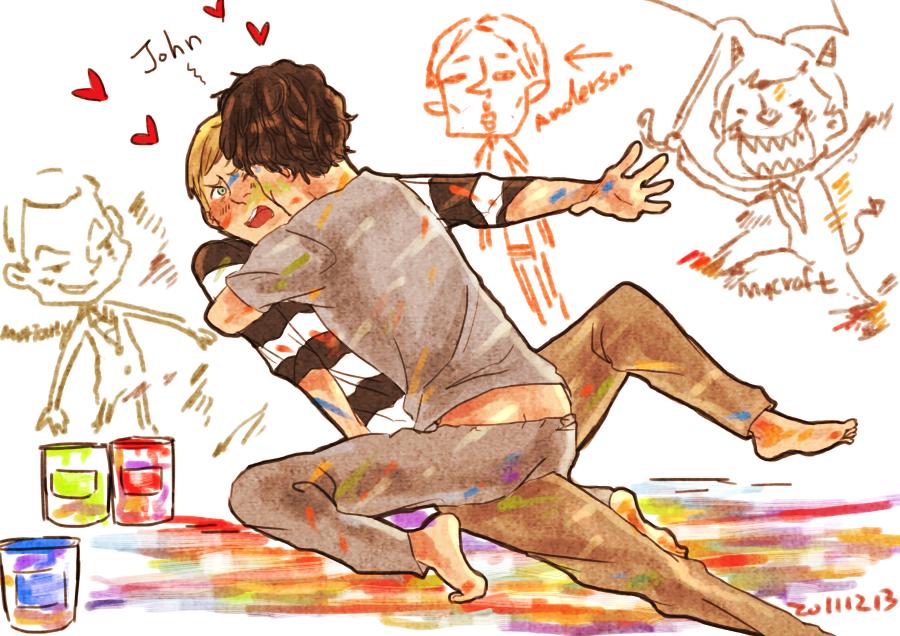 Sherlock's painting by seki0930
